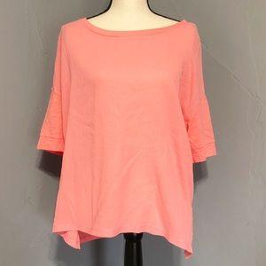 a.n.a. Women's 3/4 Sleeve Blouse